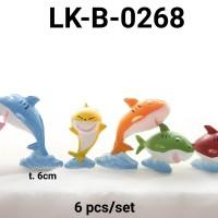 LK-B-0268 Topper mainan KARAKTER lokal Baby Shark Kecil