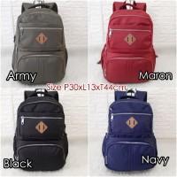 TF201 Backpack Import Tas Ransel/Tas Laptop/Tas Sekolah Unisex 8Ruang