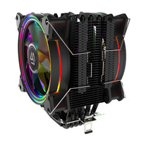 ALSEYE FAN PROCESSOR H120D - 6 HEAT PIPES DUAL FAN RGB CPU COOLER