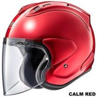Arai VZ RAM Calm RED Original SNI Helm Half Face - Calm RED