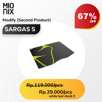 Mionix Mousepad Sargas S ( Second Product / Second Like New )
