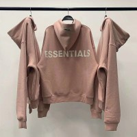 FEAR OF GOD PACSUN ESSENTIALS PINK BLUSH HOODIE