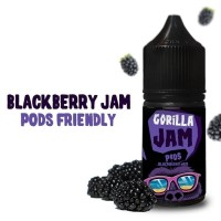 AUTHENTIC - BLACKBERRY GORILLA JAM Salt Jams