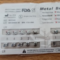 EDGEWISE HIG QUALITY BRACKET AMPLOP METAL EDGEWISE 022 BEHEL GIGI MINI