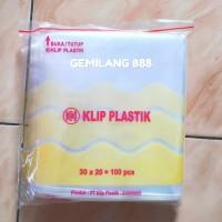 Plastik klip uk 20x30 - plastik Zipper lock