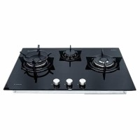 KOMPOR Ariston High Power Gas Hob 86cm DD 863 2W1/A(BK)I