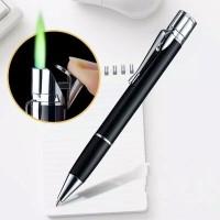 Korek api bentuk Pulpen/Pen Lighter/Korek api unik plus pulpen