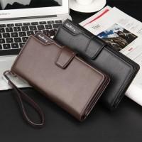 Wallet Dompet Panjang / Dompet Kulit Kartu Unisex Baellerry BL079