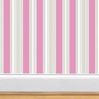 Sticker Wallpaper Atau Sticker Dinding Motif-salur pink abu GH166