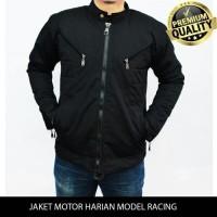 jaket motor harian model racing tahan angin, anti air,bara M-XXL