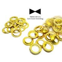 MATA AYAM/ MATA ITIK UKURAN 22 MM WARNA GOLD V 35 GOLD