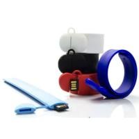 USB Flasdisk Gelang Rubber Karet Snap/Slap ON 4GB/8GB/16GB/32GB