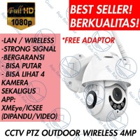 IP CAM CAMERA CCTV OUTDOOR WIRELESS WIFI 1080P HD PTZ SPEED DOME A108