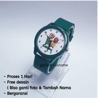 jam tangan analog anak - Jam custom Nusa Rara - Bisa Pakai nama