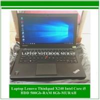 Laptop Lenovo Thinkpad X240 Intel Core i5-HDD 500Gb-RAM 8Gb-MURAH