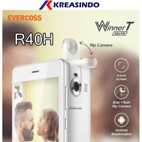 Hp Android Evercoss R40H 1/8 Ram 1gb Rom 8gb Garansi Resmi