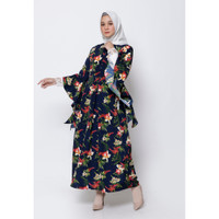 Hijab Ellysha FLORENCIA LEAF LACE SLIMMY DRESS