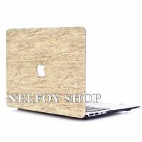 Macbook Air New 13 Mac Book Wood Kayu Case Cover Hard Soft Casing Skin