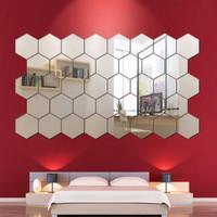 Dekorasi Hiasan Dinding Sticker Cermin Size Besar