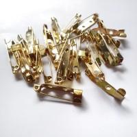 Peniti Bros 1 inch / 2,5cm Gold per lusin