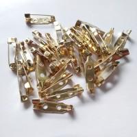 Peniti Bros 2cm Gold per lusin