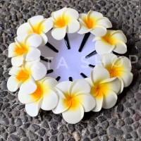 jepit rambut bunga kamboja 7 cm khas adat bali
