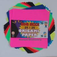 Kertas Origami Paper Big Size 25x25cm Satu Sisi Warna 50 Sheet ASTURO.