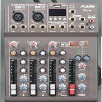 mixer audio alesis best4/best 4 4ch (usb-mp3-bluetooth)