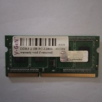 ram laptop VGen ddr3 2 gb pc12800 1600mhz sodimm memory