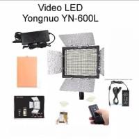 LED Yongnuo YN600L Video Lighting + AC Adaptor