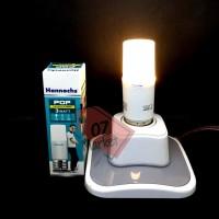 Hannochs POP 3w Lampu Bohlam LED 3 watt Warm White Kuning Stick