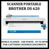 Sale Scanner Portable Brother Ds 620 Mobile Color Page Scanner