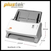 New Scanner Otomatis Plustek Ps506U - F4Folio - 50 LbrMnt