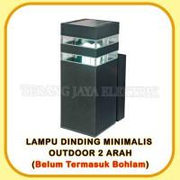 Lampu Dinding/Lampu taman/Lampu Minimalis 1 Arah (TANPA BOHLAM)