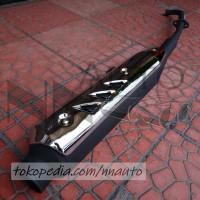KNALPOT ASSY SUZUKI SHOGUN 125 Knalpot motor standard
