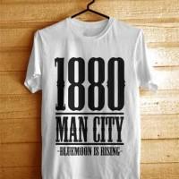 Kaos MANCHESTER CITY Years Est. BIG Putih