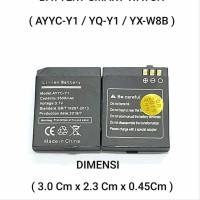 Baterai Original Smart Watch YX-W8B YX W8B Y1 Pro Y1 Plus T1 hgd22679