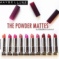 MAYBELLINE THE POWDER MATTES High Class LIPSTICK