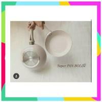 SUPER PAN BOLDE Panci Granite Ceramic Cookware Set SUPERPAN Free Bubb