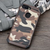 Case Loreng TNI Oppo A71 F1 F1f F5 F7 F9 Plus Tentara Soft+Hard Cover