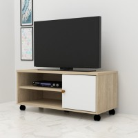 Anya-Living VR-7549 Rak TV Meja - Sonoma Oak-white