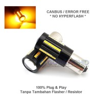 Lampu LED Sein Reting Mundur CANBUS 1156 Bayonet BA15S No Hyperflash