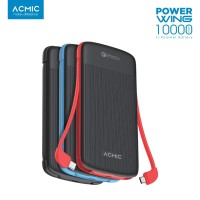 ACMIC Power Wing 10000mAh Power Bank with Triple Quick Charge 3.0
