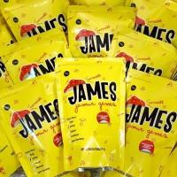 Snack James Jamur Gemes Jamur Asli Kriuk Crispy Makanan Lokal Rasa