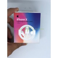 KABEL DATA CHARGER LIGHTNING IPHONE 5 5S 6 6S 6+ 7 7+ 8 8+ PLUS X ORI