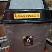 TEMPAT SAMPAH BESAR 100LITER BUKA TUTUP/TONG SAMPAH JUMBO 100 LITER