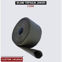 Selang Irigasi PVC Terpaulin Semi Karet JAWARA Panjang Custom 3 dim