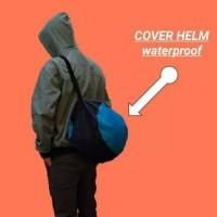 Cover Tas Sarung Helm Waterproof Anti Air Anti Debu