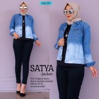 Jaket Wanita Jeans Satya Original