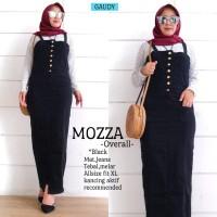 Jumpsuit Overall Mozza Black Jeans Tebal & Melar